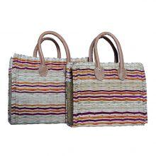 MEZWED, Modern Wicker Bag